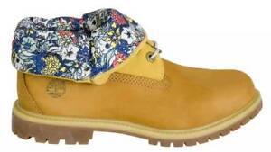 Timberland Womens Authentics Roll Top Boots (Size US 8)