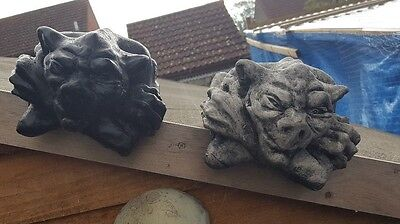 HALLOWEEN GARDEN  GARGOYLE / GREMLIN DEVIL / GOBLIN WALL RIDGE SITTER