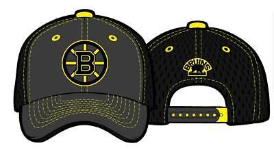 a0b7ebf7fe70a Boston Bruins Deluxe Baseball Cap Zephyr NHL Ice Hockey Baseball Cap