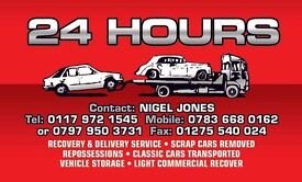 Casual/Part Time Recovery/Delivery Driver Required
