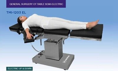 C-arm Compatible Semi-electric Ot Table Up And Down Surgical Operating Table
