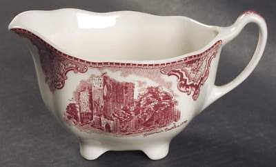 Johnson Brothers OLD BRITAIN CASTLES PINK (MADE IN CHINA) Creamer 4740800 ()