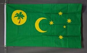 Cocos (Keeling) Islands flag: printed polyester 150 x 90 cm/ 5x3' New Marrickville Marrickville Area Preview