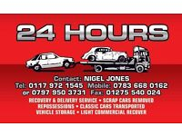 24hr Breakdown Recovery & Delivery