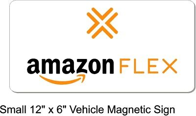 Amazon Flex Magnetic Car Truck Signs Small Medium And Large Sizes Available