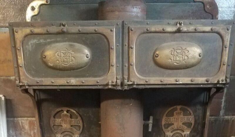 South Bend Malleable Steel Range Bread Warmer Doors (2)