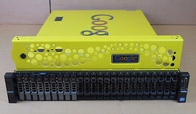 Google Dell R720xd G100 2x Six-Core Xeon 2.50GHz 96GB 2.73TB 2U Rack Server