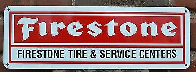 Firestone Tires Sign Service Center Shop Mechanic Tire Garage Ad Free Shipping