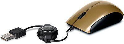 Speedlink USB Maus MINNIT 3-Tasten-Maus einziehbares kabel Kabelgebunden