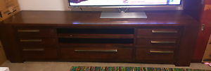 TV stand (wood) Bentley Canning Area Preview