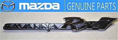 MAZDA GENUINE OEM RX-7 SAVANNA SA22C 1983-1985 Fender Badge Emblem JDM