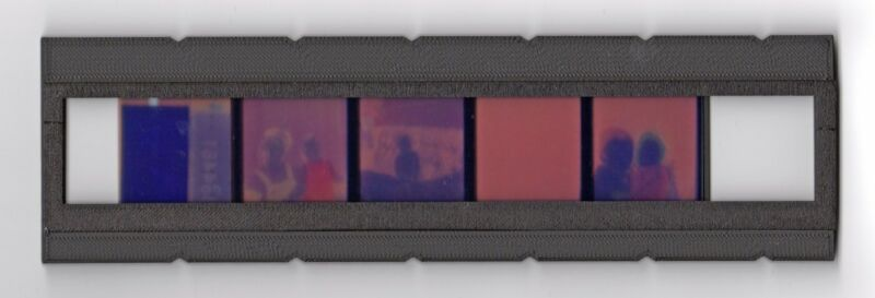 126 film adapter for Plustek Opticfilm film scanners