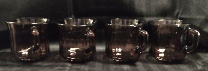 Forte Cross Radiance Amethyst Cups Set Of 4