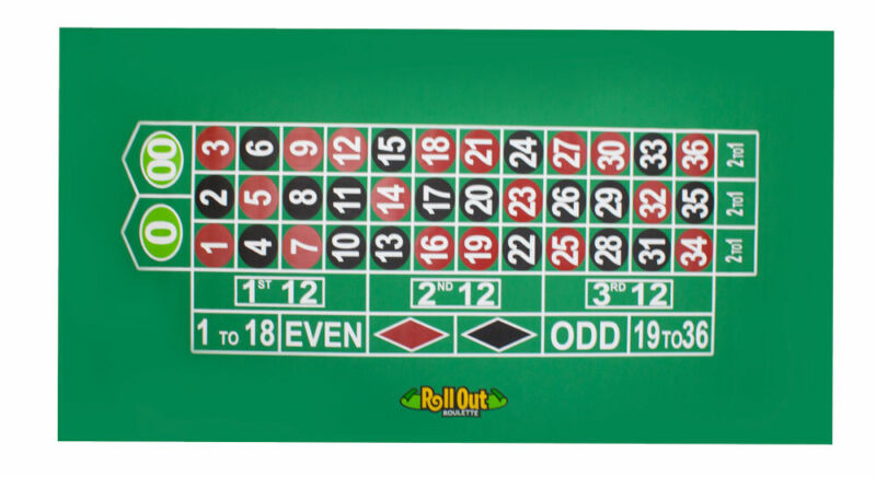 Rollout Gaming Roulette Table Top Tab-1005