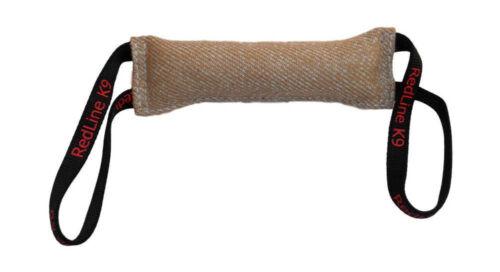 "Dog Bite Tug Toy 3"" X 16"" 2 Handle Jute - Redline K9 Free Shipping"