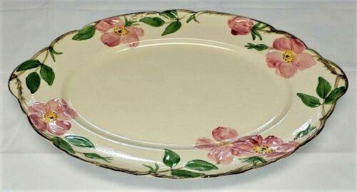 """VTG Franciscan DESERT ROSE USA 14 1/4"""" Large Oval Serving Platter Earthenware"""