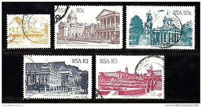VS34A SOUTH AFRICA - 582, 586-589 - USED - NICE LOT