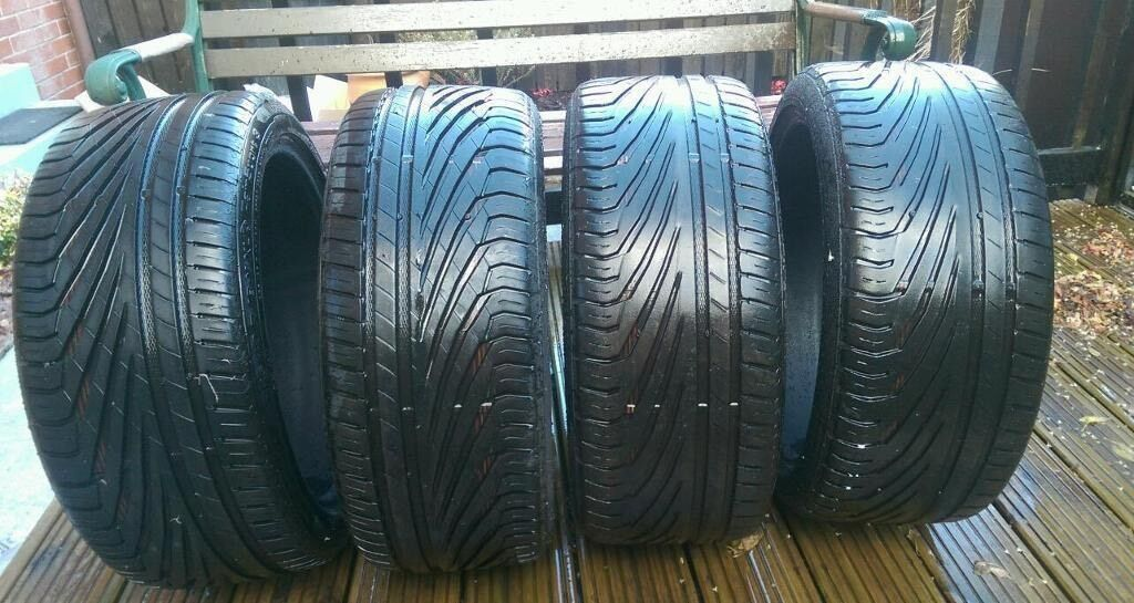 uniroyal rainsport 3 tyres 205 45 16 x4 in clermiston edinburgh gumtree. Black Bedroom Furniture Sets. Home Design Ideas
