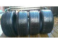 Uniroyal Rainsport 3 tyres 205/45/16 x4