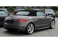 AUDI TT CONVERTIBLE TT SPORT TFSI 1.8 AUTOMATIC GREY SPORTS CAR 2012 FOR SALE