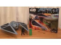 Star Wars Rogue One Tie Fighter with Nerf projectiles & action figure