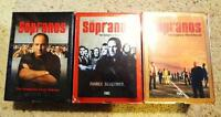 The Sopranos Seasons 1-2-3 VHS
