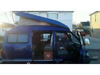 1999 daihatsu hijet camper van / motorhome conversion done by JC leisure 2 berth