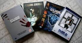 Cube (There's No Escape) dvd box set
