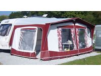 Bradcot Classic 965 Full Awning + 2 Annexes