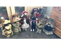 Porcelain dolls,