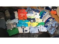 Big bundle of baby boys clothes