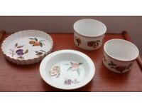 Royal Worcester Evesham Gold Items