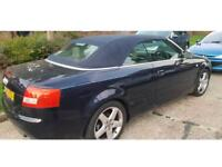 AUDI A4 3.0 CONVERTIBLE V6 SPORT (spares or repairs)