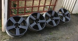 "18"" Audi s-line RS6 style alloy wheels"
