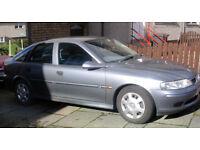 2002 Vauxhall Vectra 1.8 LS Petrol. Genuine 66,000 miles.