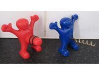 Mr Happy Corkscrew and Bottle Stopper - Naughty!!