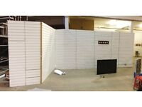 Portable Shop Fitting System - Perfect for exhibitions or for shop refit