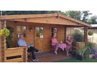 Log Cabins, BBQ Cabins, Summerhouses, Sheds, Playhouses, Greenhouses, Insulated Offices & Studios
