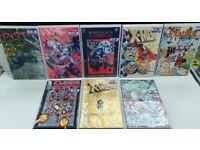 COMIC GRAPHIC NOVELS / TPB MIXED JOB LOT - 8x QUALITY GRAPHIC NOVELS from DC, MARVEL + IMAGE Comics