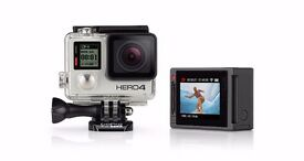 GoPro Hero 4 Silver Edition in New condition + 4 Month warranty + Accessories + Sim card