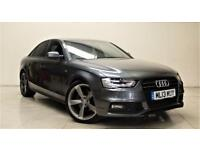 AUDI A4 2.0 TDI S LINE BLACK EDITION 4d AUTO 174 BHP + TOP SPEC WITH ALL THE EXTRAS (grey) 2013