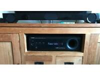 Yamaha SR-301 Av Receiver/Sub-woofer, Sound Bar and Remote Control