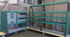 Edstrom Van racking, Van shelving, Van Drawers, E15