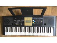 Yamaha YPT220 MIDI Sustain SYNTHESISER ELECTRIC KEYBOARD ELECTRONIC KEYBOARD 61 Full size keys