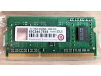 BRAND NEW TRANSCEND 2GB DDR3L 1600MHz 204PIN SO-DIMM MEMORY FOR SALE