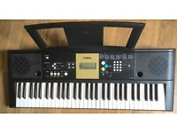 Yamaha YPT220 MIDI Sustain SYNTHESISER ELECTRIC KEYBOARD ELECTRONIC KEYBOARD 61 Full size keys