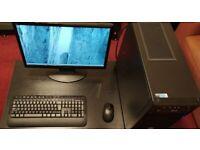 "PC / 22"" Monitor / Intel Pentium GOLD G6400 4.0GHz (2020) / 2TB SSHD / DDR4"