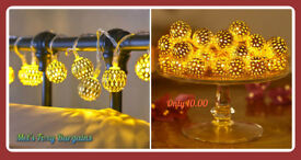 Stunning brand new Moroccan Ball String Lights for only £10