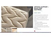 Brand New Double Mattress - THE NATURAL BED COMPANY - Specialist Back Care Mattress