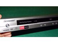 PIONEER DV-696AVS SACD SUPER AUDIO CD HDMI DVD-AUDIO PLAYER + REMOTE SLIMLINE